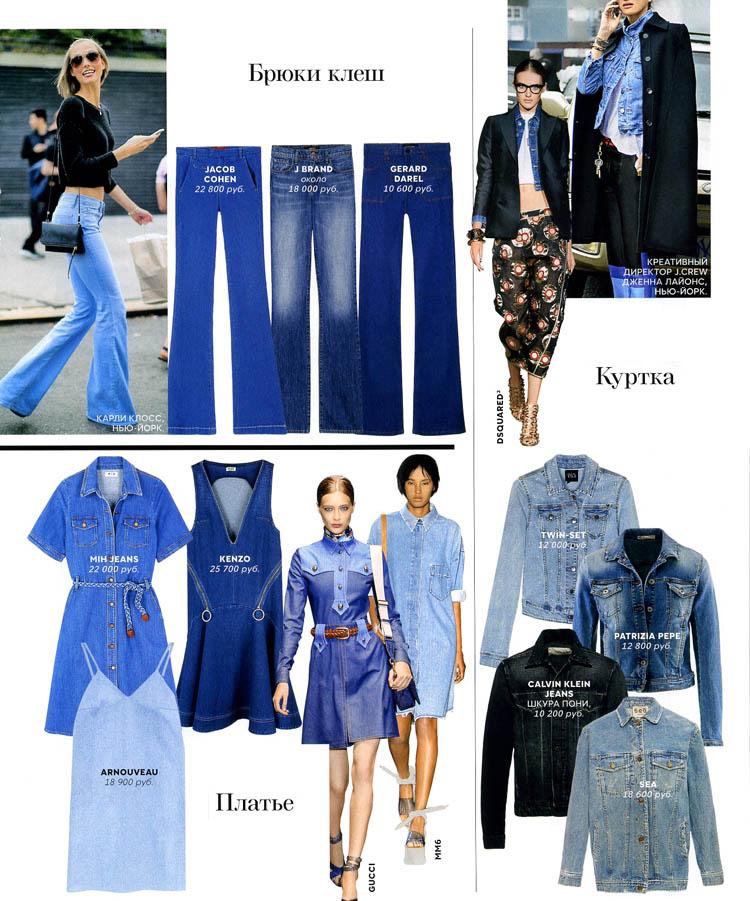 джинсовые платья и куртки