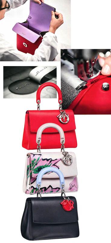 0a6234612714 О том, что лучшее часто вредит хорошему, знают все, и руководство Dior в  том числе. Однако в случае с новой сумкой Be Dior нашлось место приятному  ...
