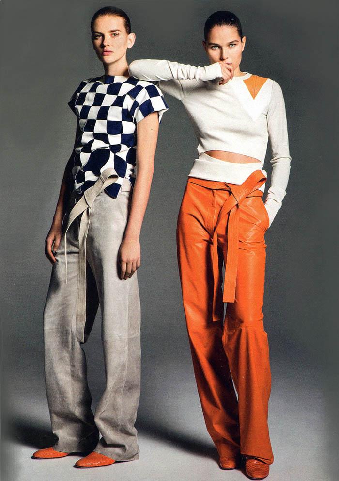 Объект желания - широкие кожаные брюки