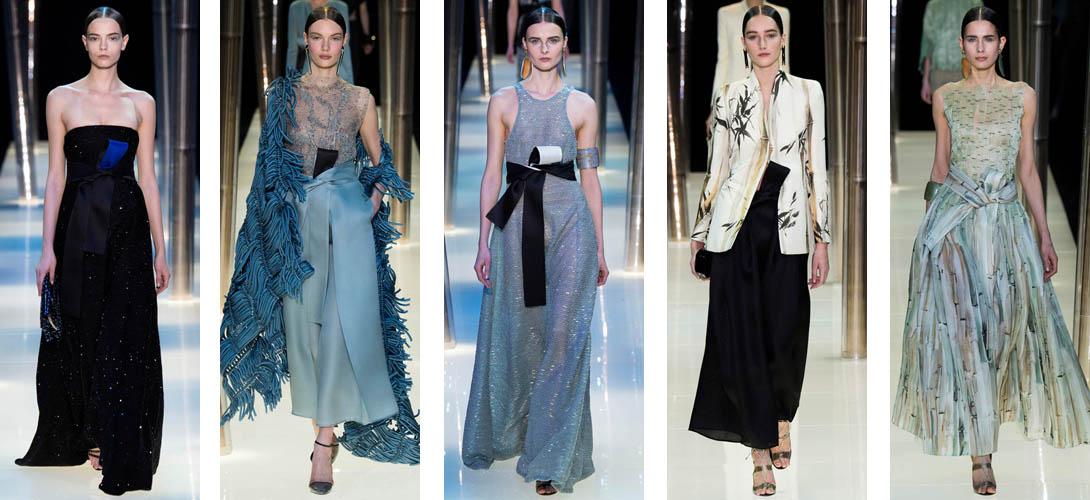 Коллекция haute couture Джорджо Армани
