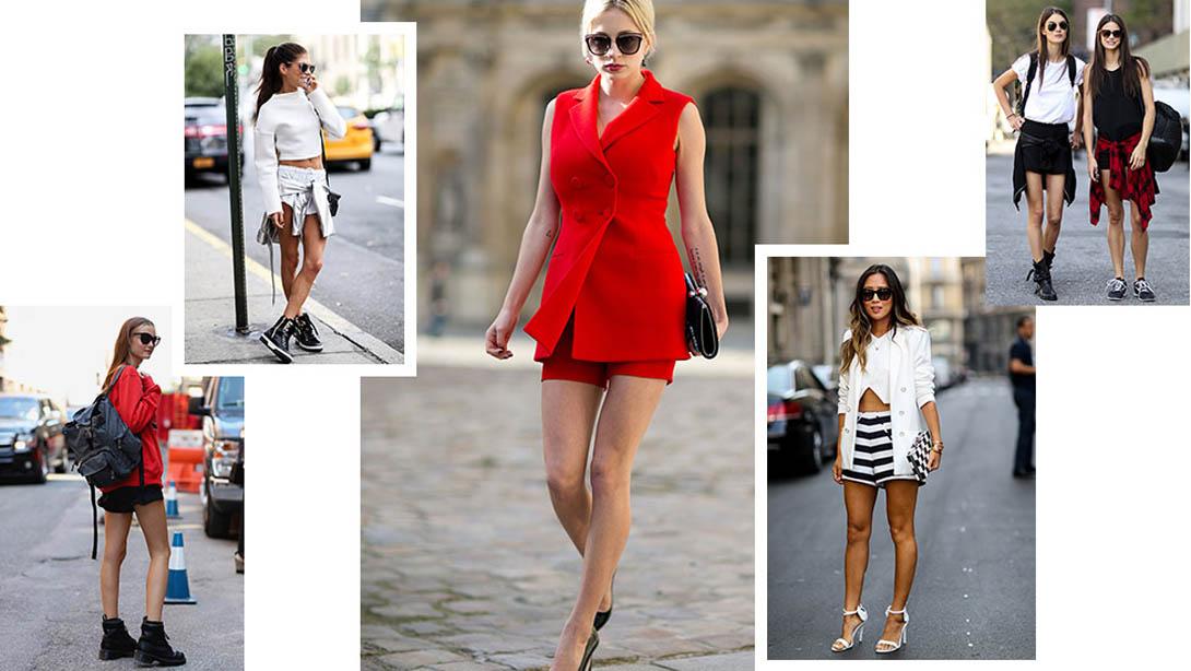 Streetstyle - модные шорты лето 2015