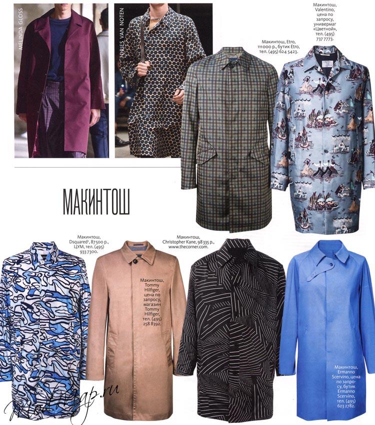 Модный мужской джемпер 2015
