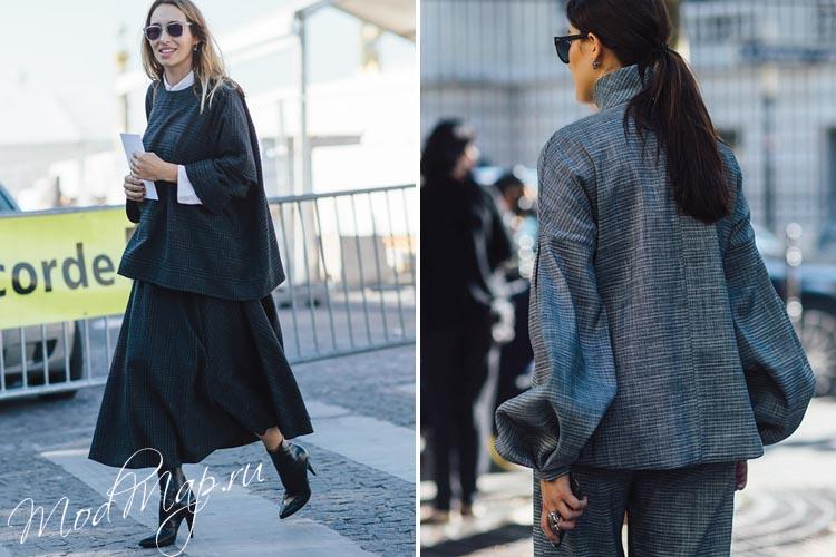 модный серый цвет осень 2019