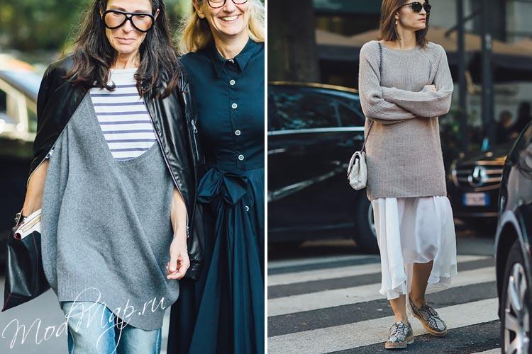 свитер серого цвета