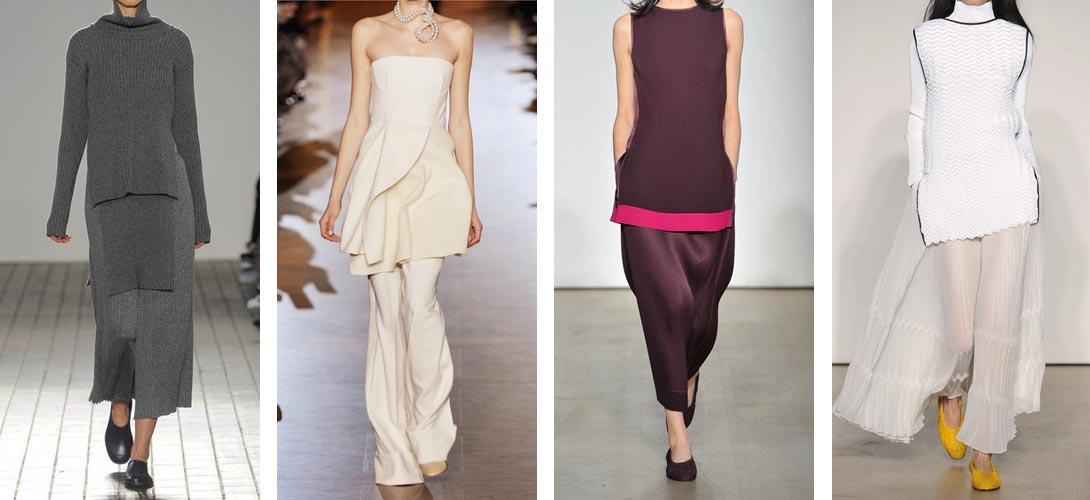 С чем носить модную тунику осенью 2015