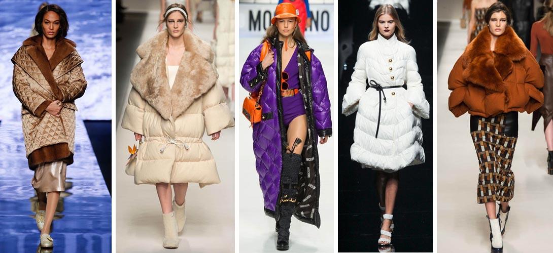 Модные женские пуховики зима 2015-2016
