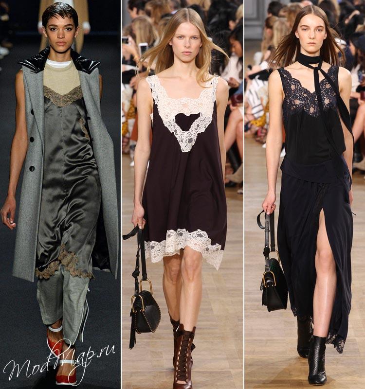 Платье комбинация с чем носить зимой