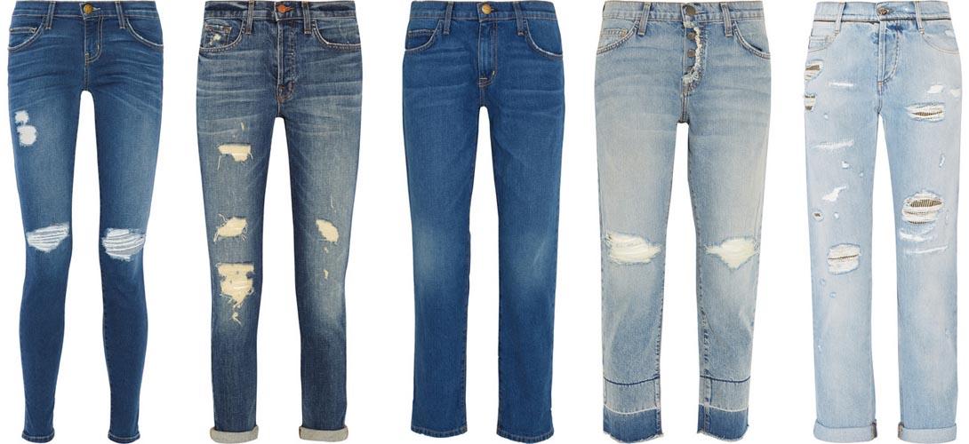 Составляем 3 образа, - как сегодня носить модные женские джинсы