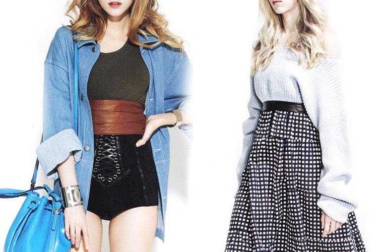 Составляем новые образы: модные шорты и джемпер