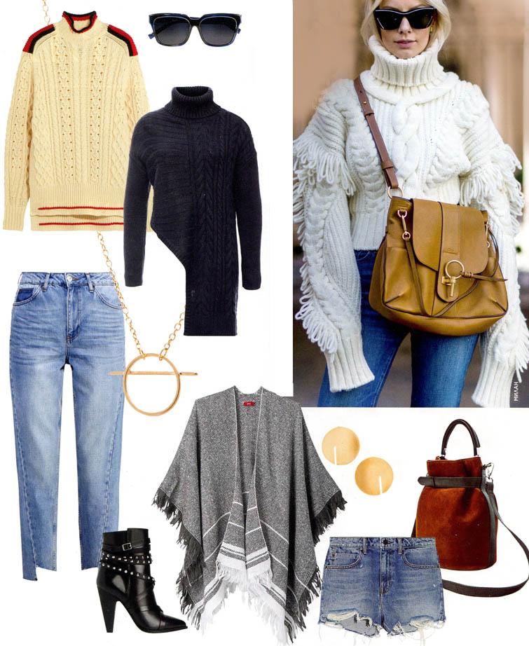 Что сегодня надеть: свитер & джинсы