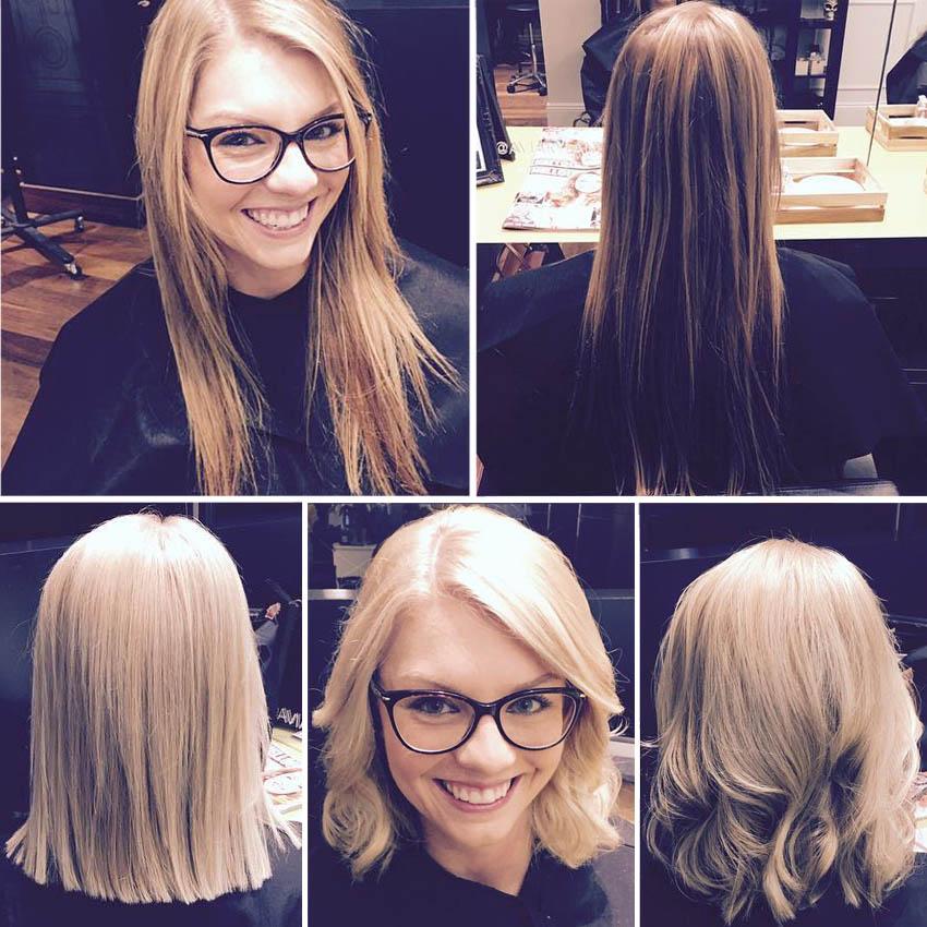 Удлиненное каре - идеальная стрижка для поврежденных волос