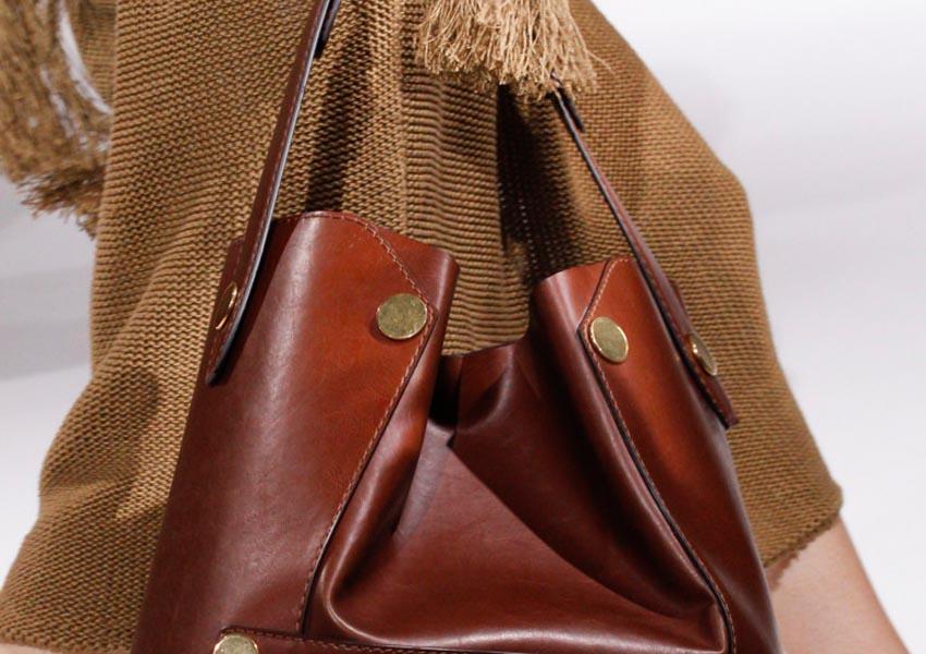 платье и сумка - шопер