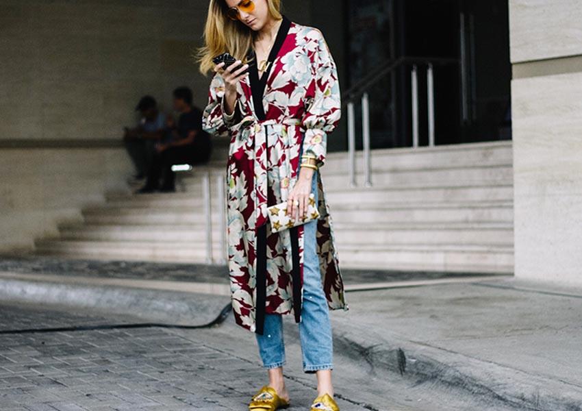 модный женский халат 2017
