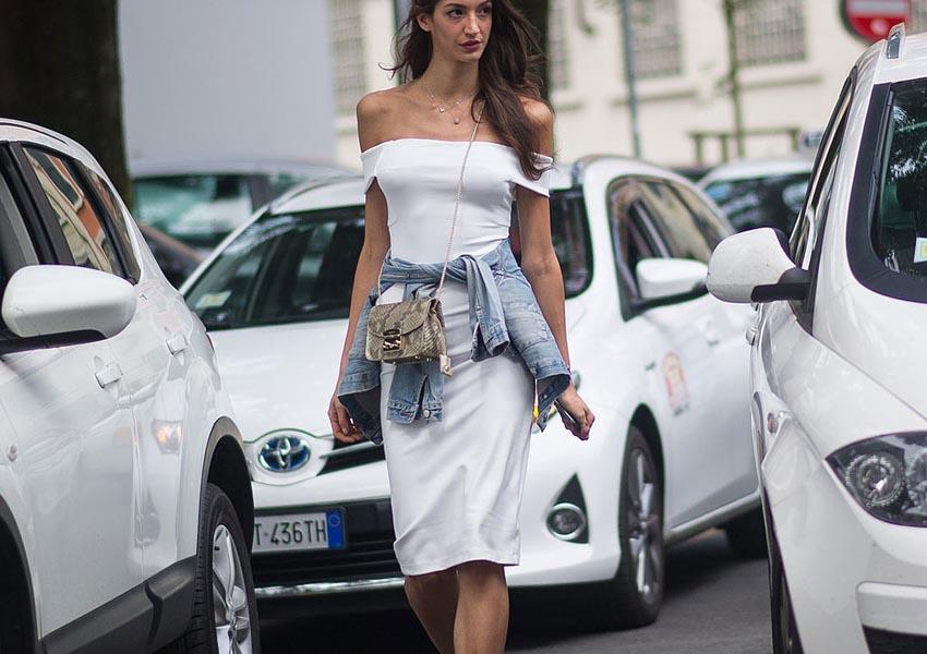 Белое платье круглый год