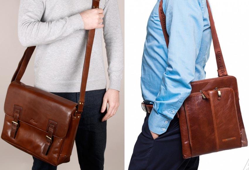 4100bb2cb141 Модные и популярные мужские сумки - весна-лето 2019