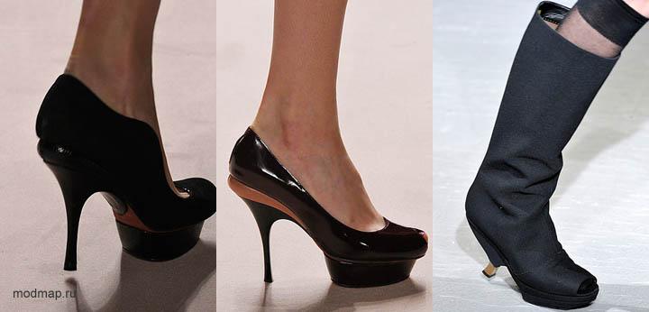 Модные каблуки сезона осень-зима 2010-2011