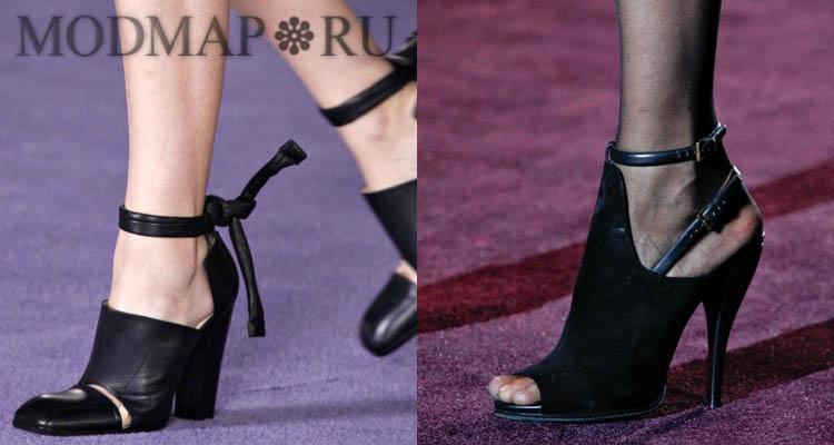 Обувь нового сезона осень зима 2012 2013