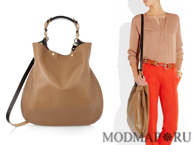f623ce550b00 Модные замшевые сумки 2013-2014: фото брендовых моделей из женских