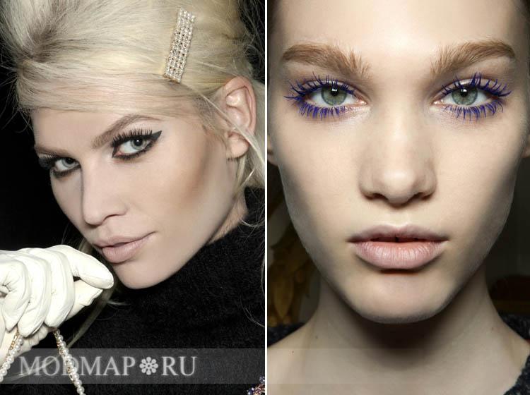 Продолжаем рассматривать новые тенденции в макияже и прическах в сезоне весна-лето 2013