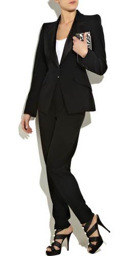 0ec661ea1b3 Вечерний наряд - смокинг для женщины