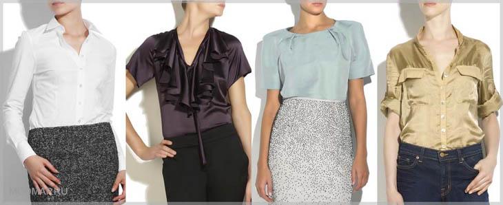 блузки для женщин 60 лет