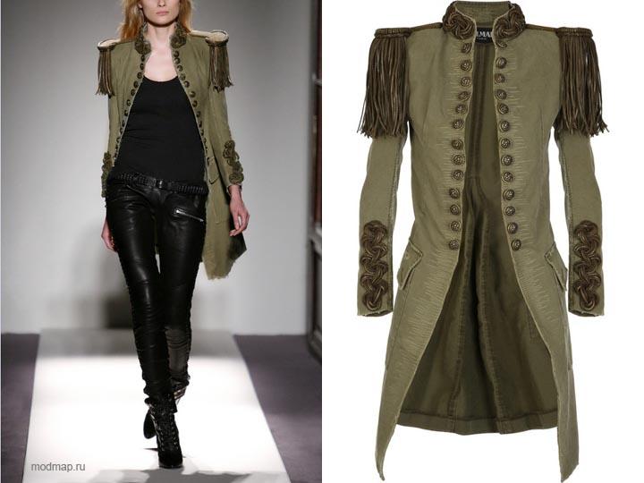 Купить платье в стиле милитари в москве
