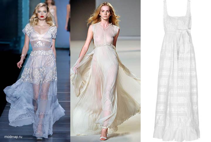Модные платья весна-лето 2015. ТОП 10 трендов. ФОТО