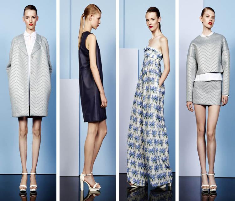 Подиум, модные коллекции женской одежды сезона - осень - зима 2015
