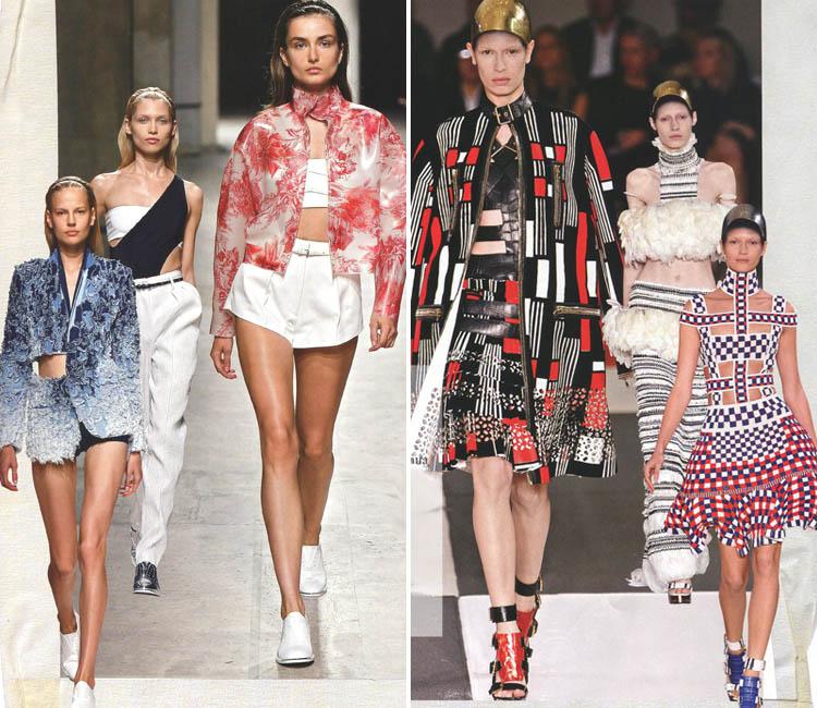 Неделя моды в Париже! Посмотрим краткий обзор нескольких коллекций весна-лето 2014