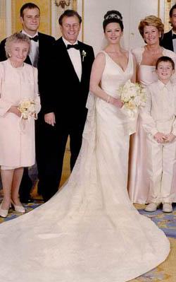 Свадебное  2000 года фото