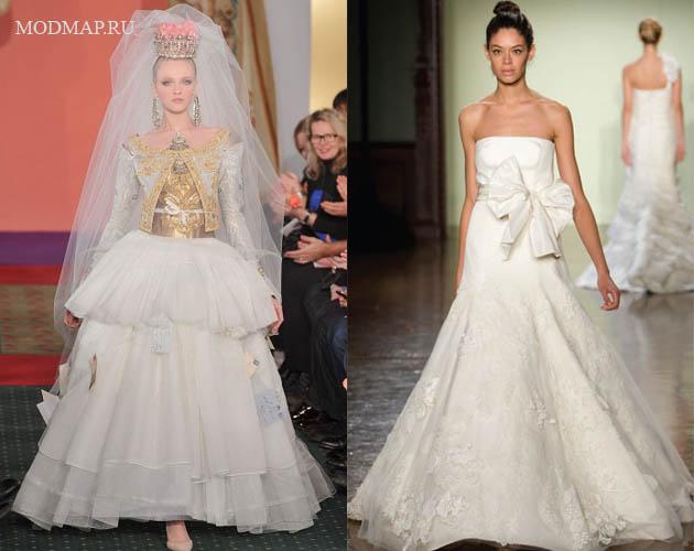 Лучшие свадебные платья сезона от