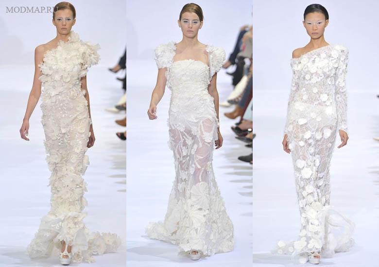 гипюровое стрейч свадебное или вечернее платье