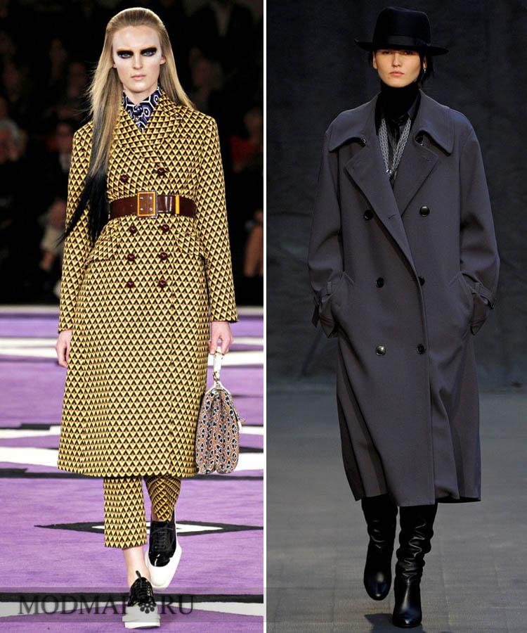 Модное пальто осень зима 2012 2013 как и с