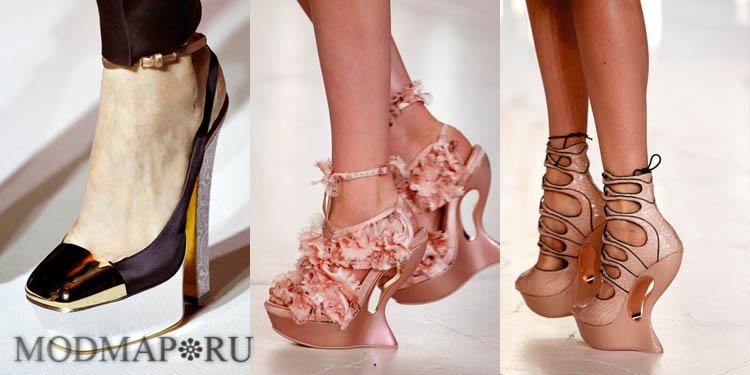 обувь сезона весна-лето 2012