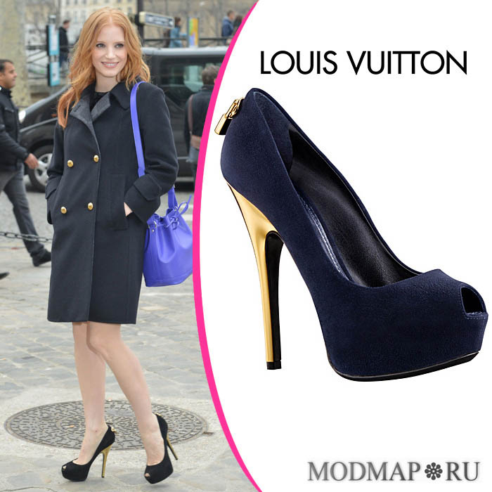 LOUIS VUITTON - туфли «Oh, Really!»